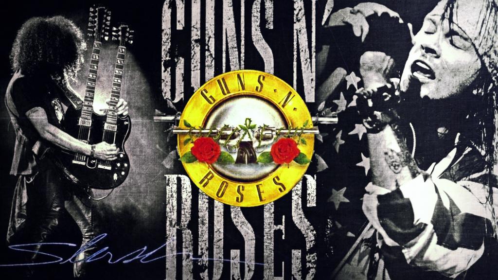 Guns N Roses Wallpaper: Guns N' Roses Wallpaper By TDECFC On DeviantArt