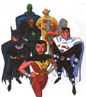 Justice Lords by Silverbolt77