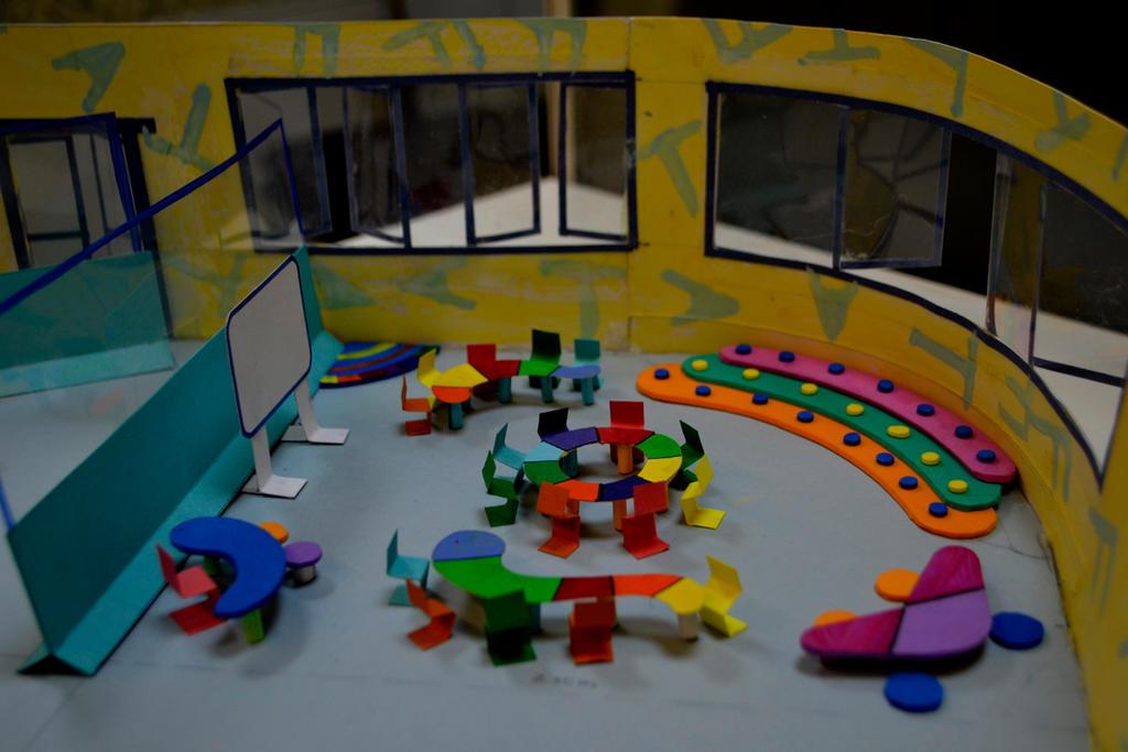 Innovative Classroom Layout ~ Classroom design d model by rrajoria on deviantart
