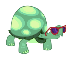Tank in Glasses by Mauranx