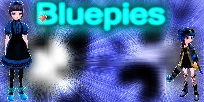 Bluepies Siggy by 2010Sakura-chan2010