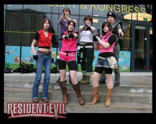 Resident Evil-group at Uppcon by SwedenMikku