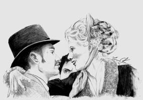 Watson and Mary.....and Holmes by SwedenMikku