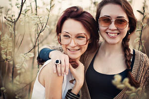 Ann and Di by Lileinaya