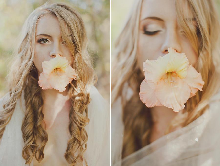 Fragile flower. by Lileinaya