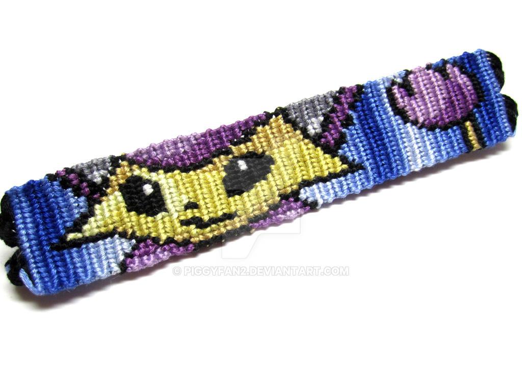 Delcatty Pokemon Friendship Bracelet By Piggyfan2
