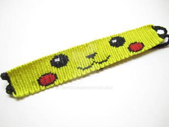 Pikachu Friendship Bracelet by piggyfan2