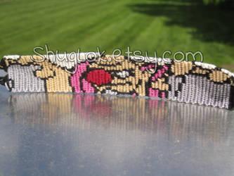 Conkeldurr Pokemon Friendship Bracelet by piggyfan2