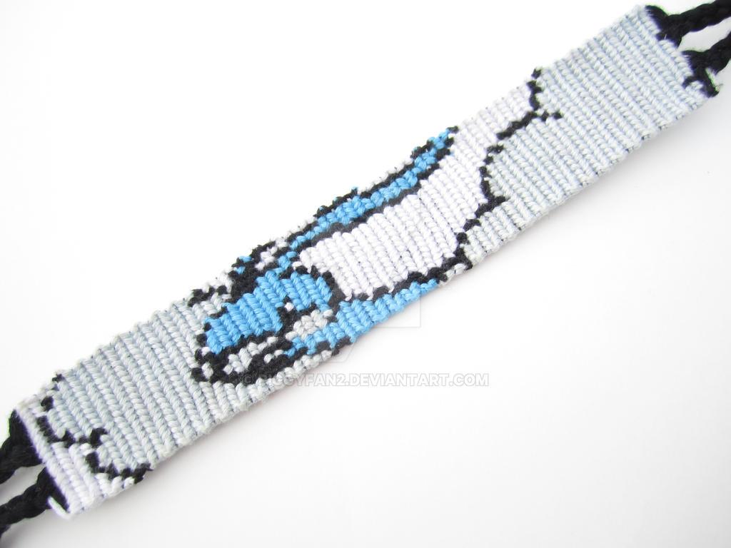 Altaria Pokemon Friendship Bracelet By Piggyfan2