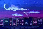 Pixel Art paisaje