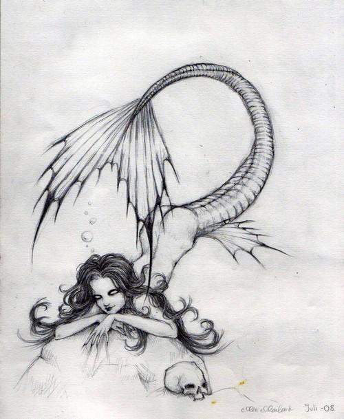 Vicious mermaid by Marquerite