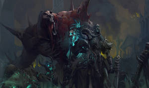 Necromancer Diablo 3 fan art