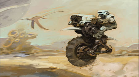 Mini Practice 01- dune rider by ThanhTuan613