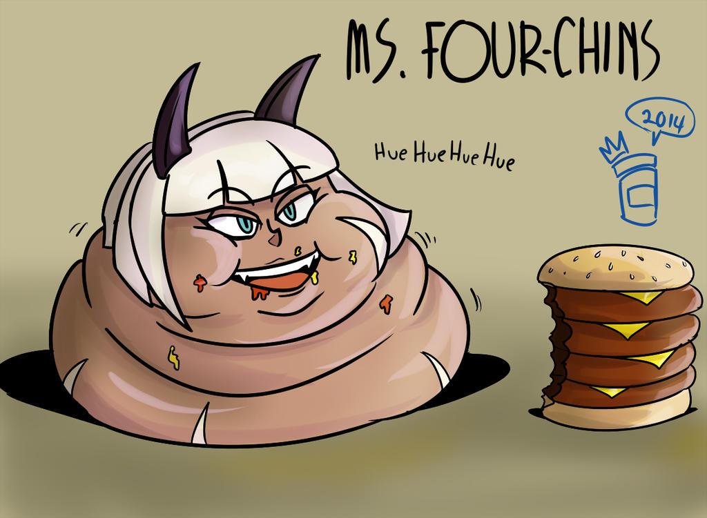 Ms. Four-chins by RoyalJellySandwich
