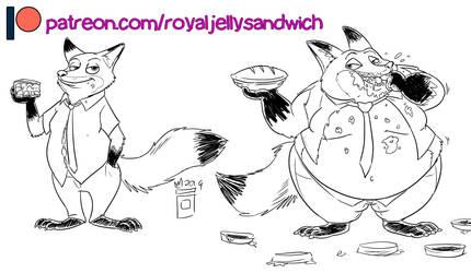 [Patreon] Nick Wilde by RoyalJellySandwich
