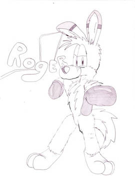 Roger the Boxing Roo