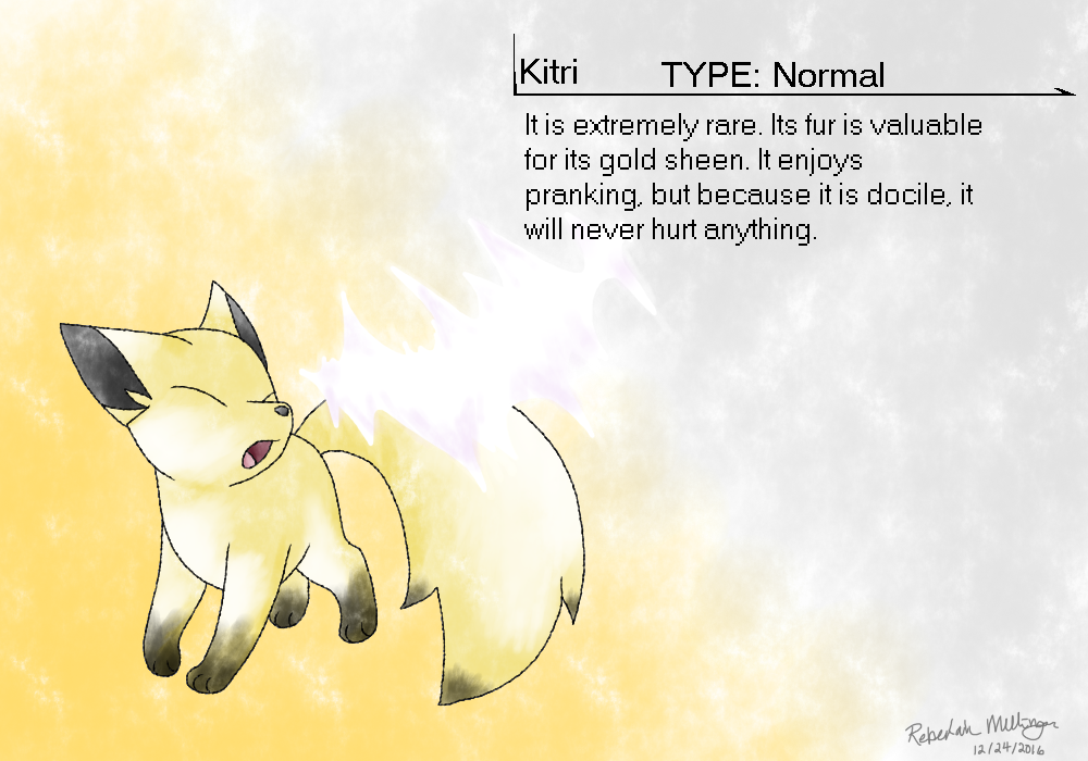 Kitri Gen 2 Style by Glitchedmew