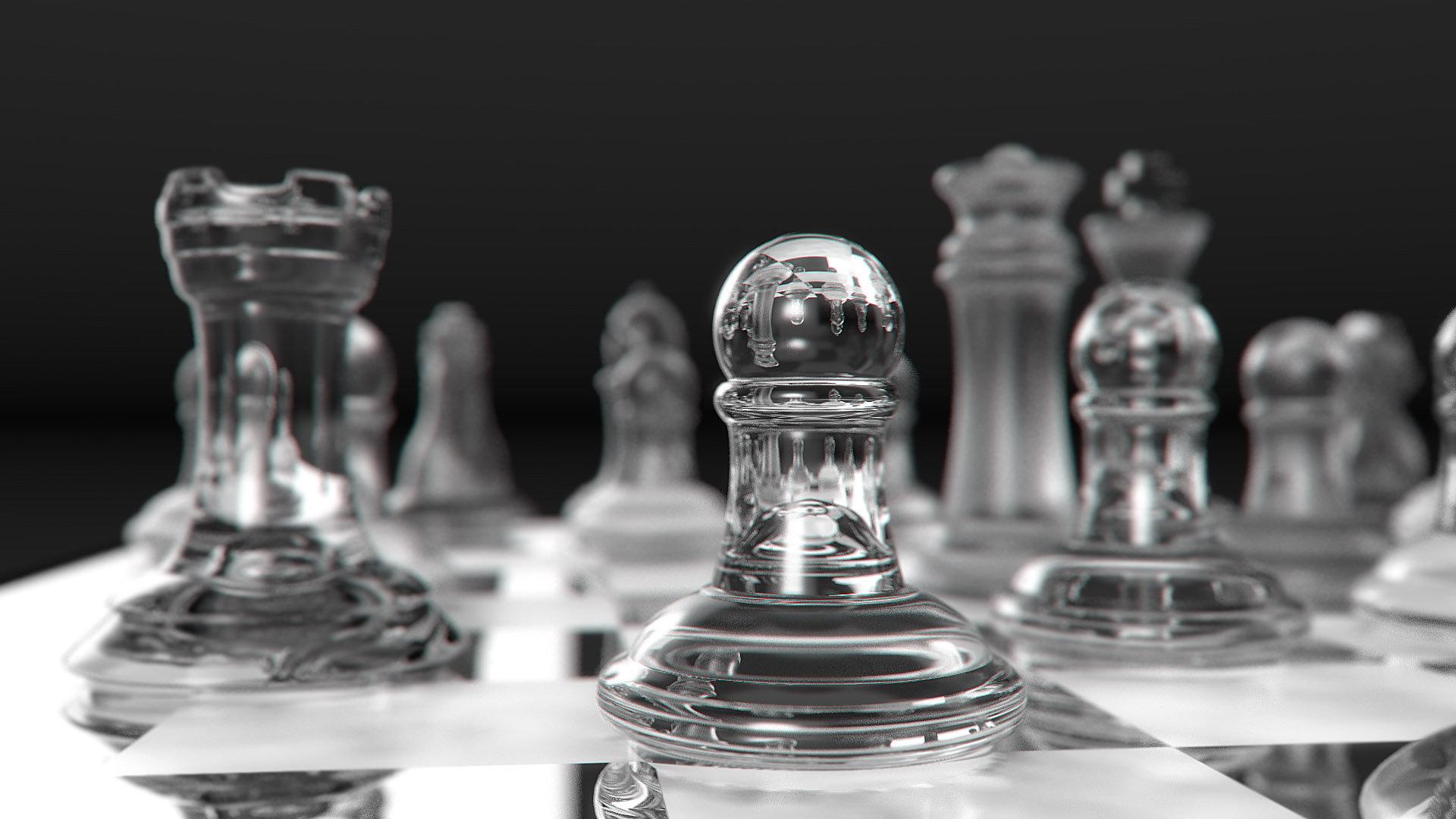 Glass Chess Set By Rockr7990 On Deviantart