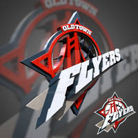Old Town Flyers 3D Logo