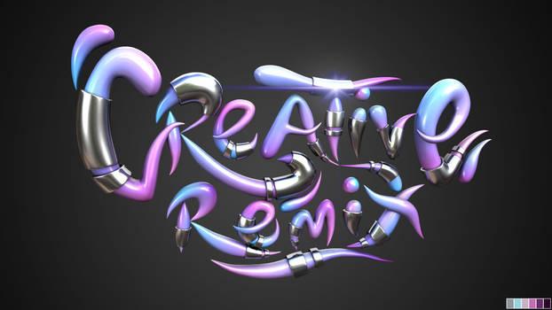 Creative Remix 3D Banner