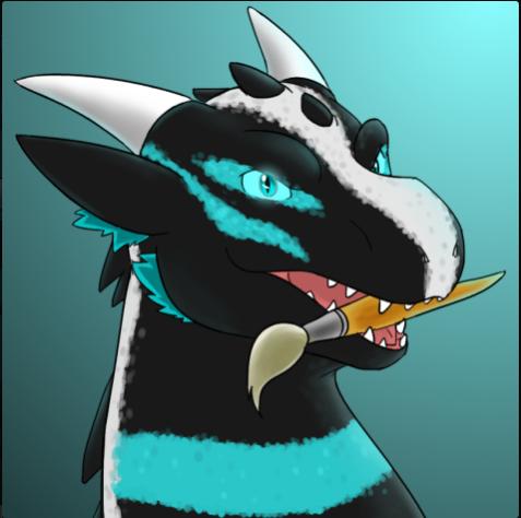 New profile headshot by neonhelldragon