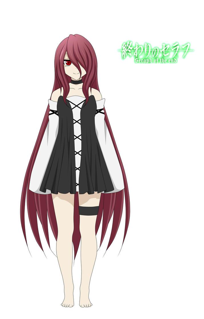 Owari No Seraph Oc Shiroi Yami By Black Moon Raven On