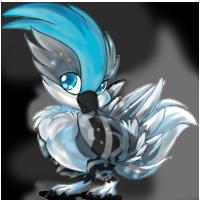 Blizz's pretty birdy :'D by c-yang