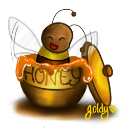 bumblebee bottle by c-yang