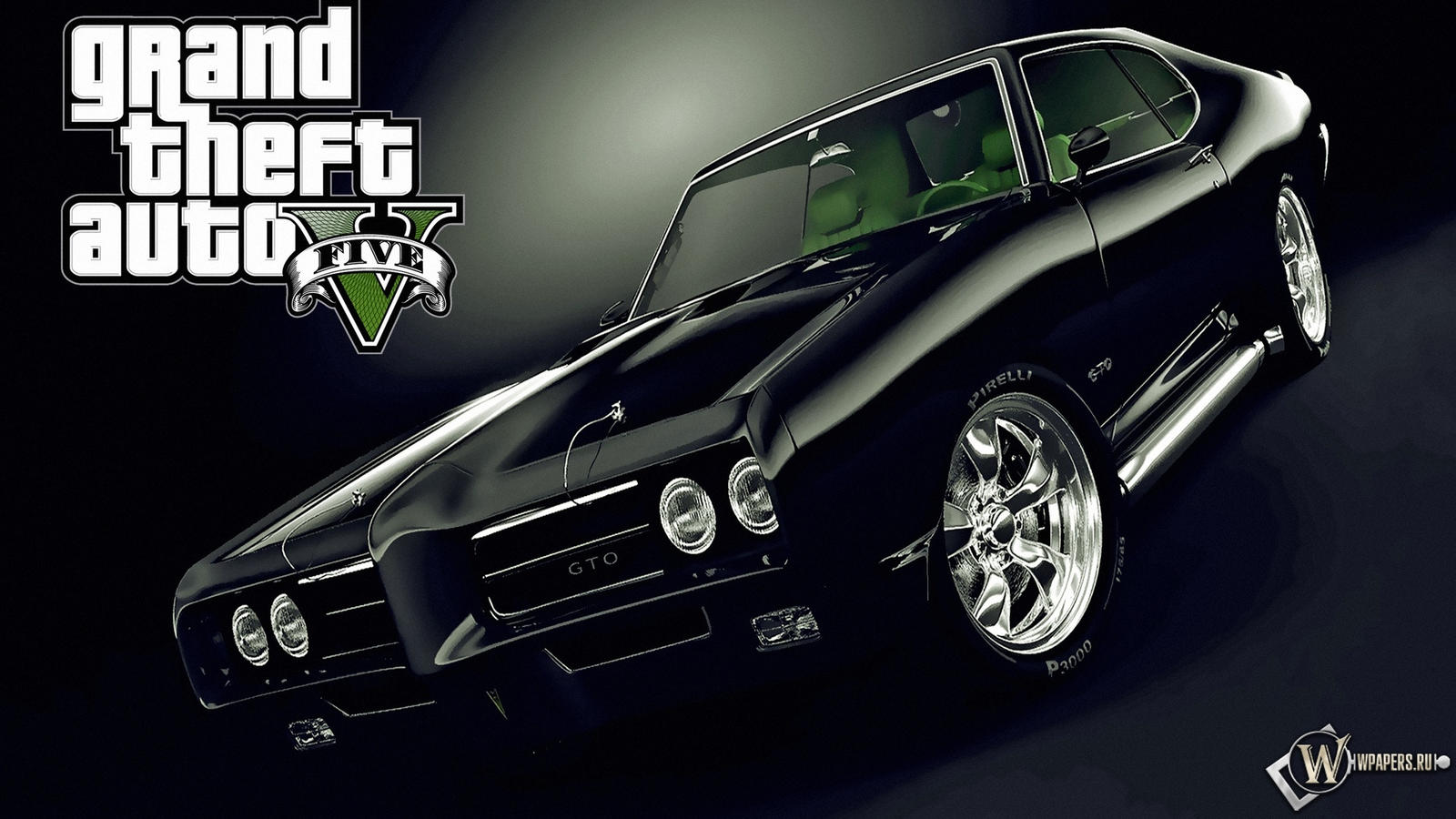 Grand Theft Auto GTA 5 Black Car Wallpapers By