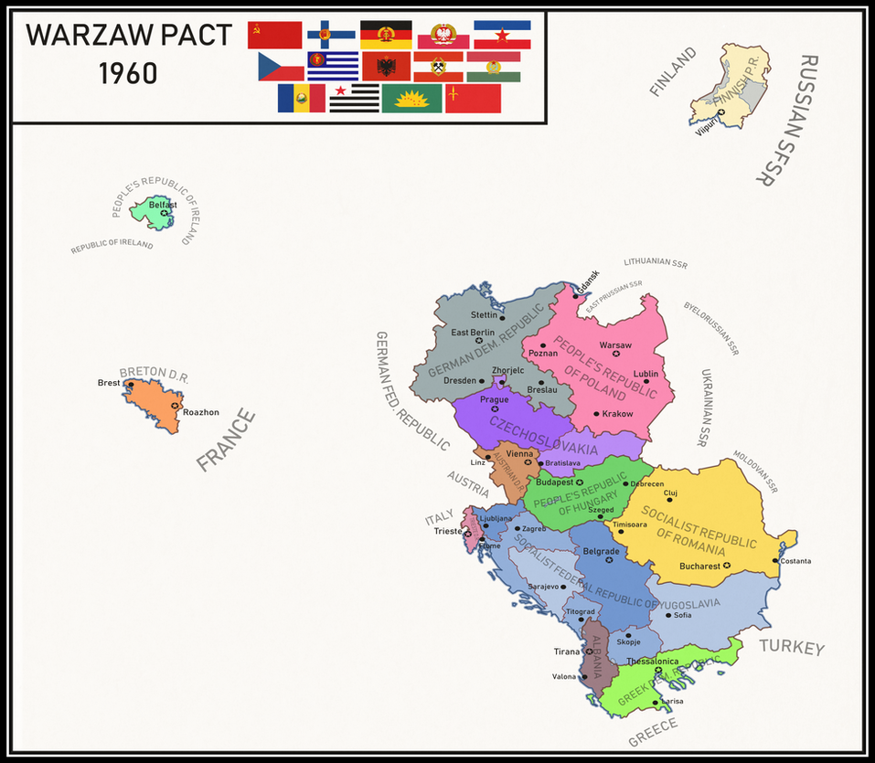 Alternate Warsaw Pact by Dom-Bul