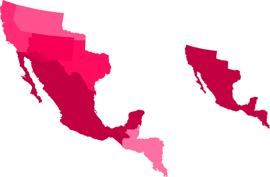 (Historic) Mexican irredentism - Reconquista by Dom-Bul