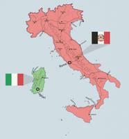 Taiwan-like concept: Italy by Dom-Bul