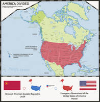 Taiwan-like: United States of America by Dom-Bul