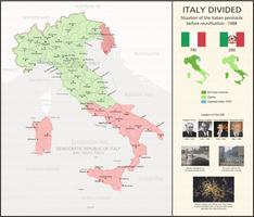 Italy Divided - scenario by LoreC10 by Dom-Bul