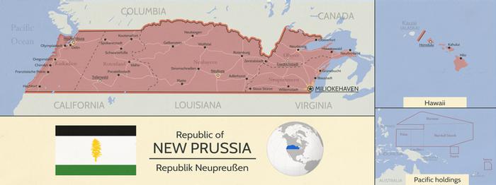 New Prussia - Vinland Timeline