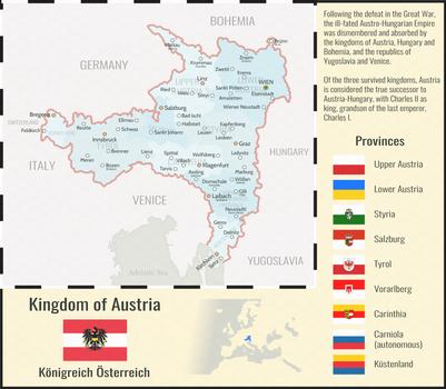 The Kingdom of Austria - Vinland Timeline
