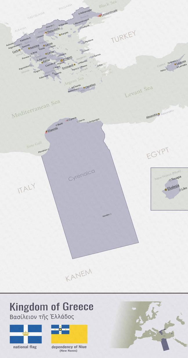 Oi Ellenes - Vinland Timeline