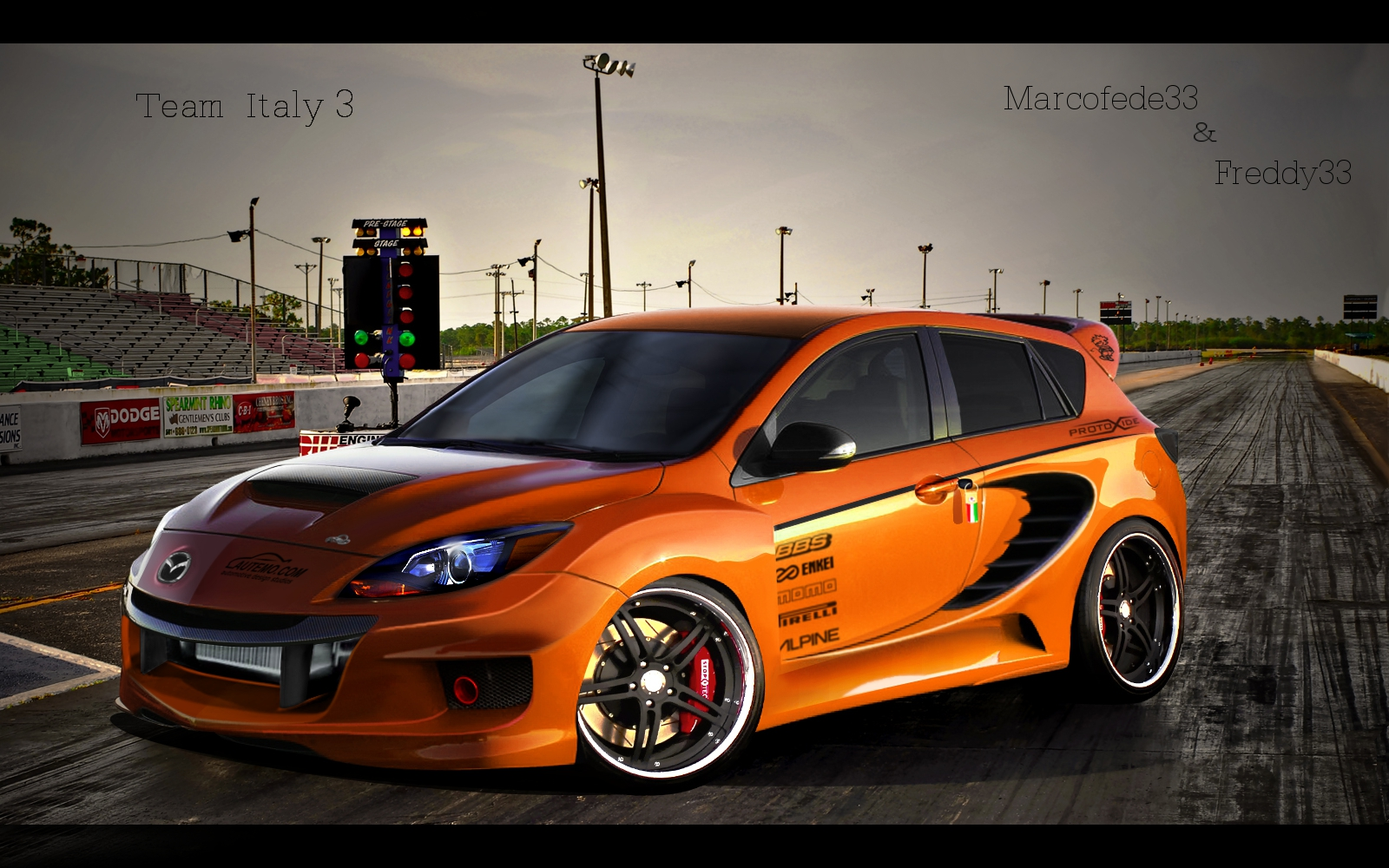 Mazda 3 MPS by Marcofede33 on DeviantArt