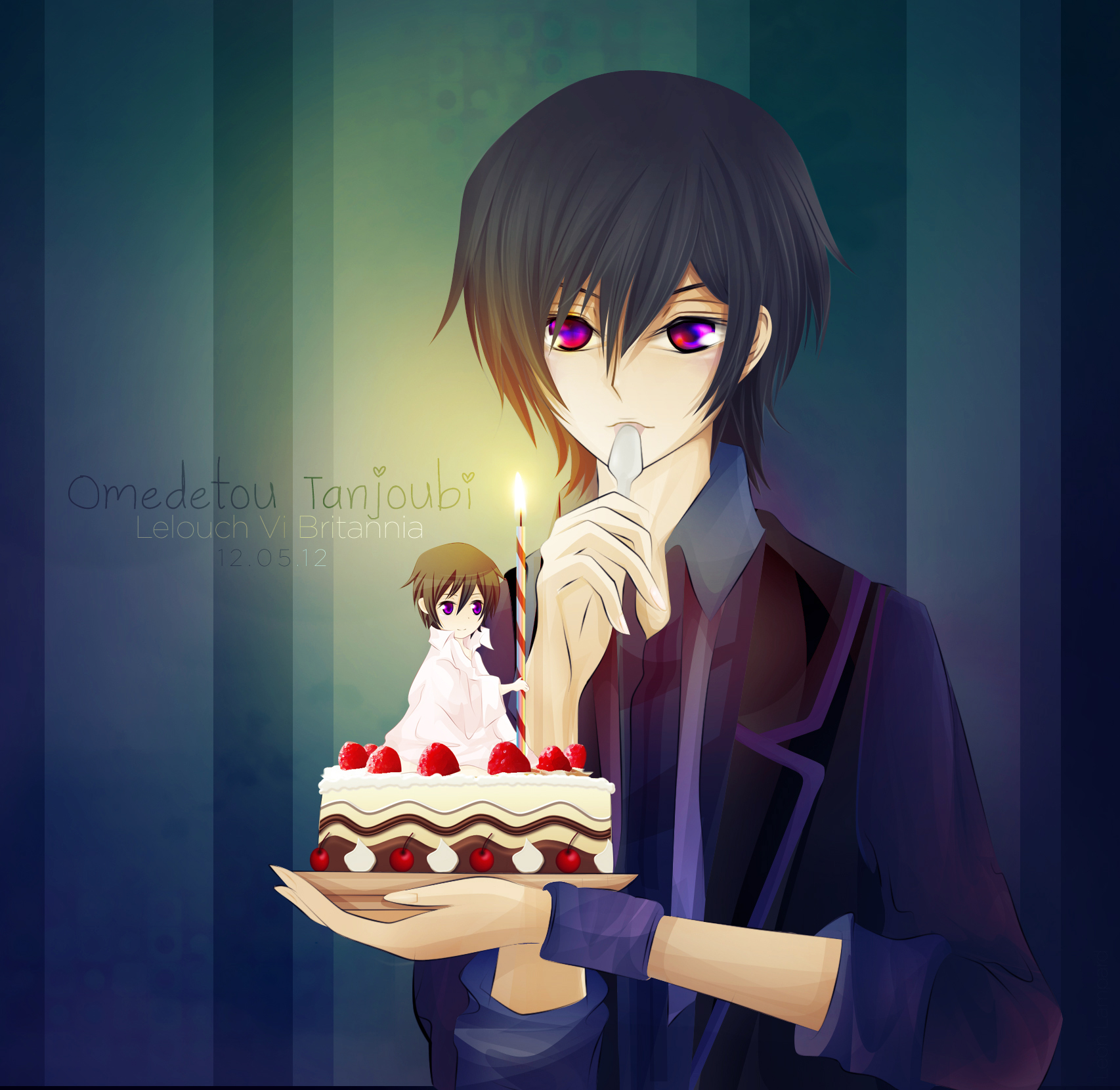 Happy Birthday Lelouch! by LeonLampard on DeviantArt