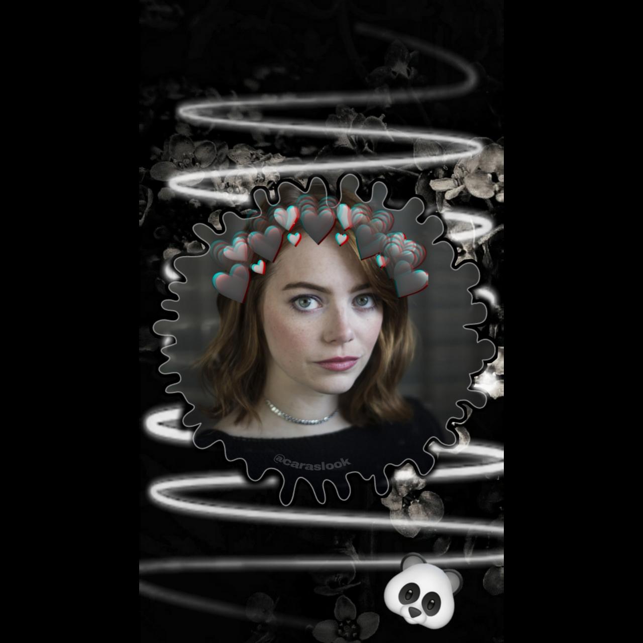 Emma Stone Black Aesthetic Wallpaper By Juli3569 On Deviantart