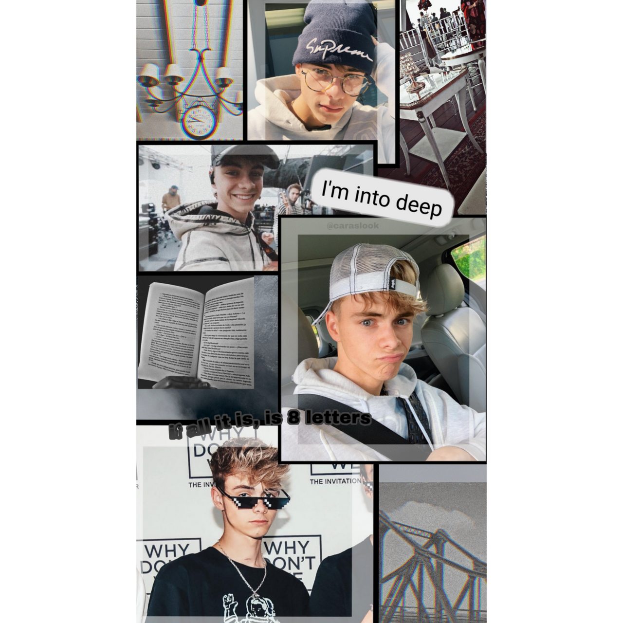 Corbyn Besson Grey Aesthetic Wallpaper By Juli3569 On Deviantart