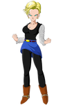 Android 18 - Dragon Ball Z (Short Haired)
