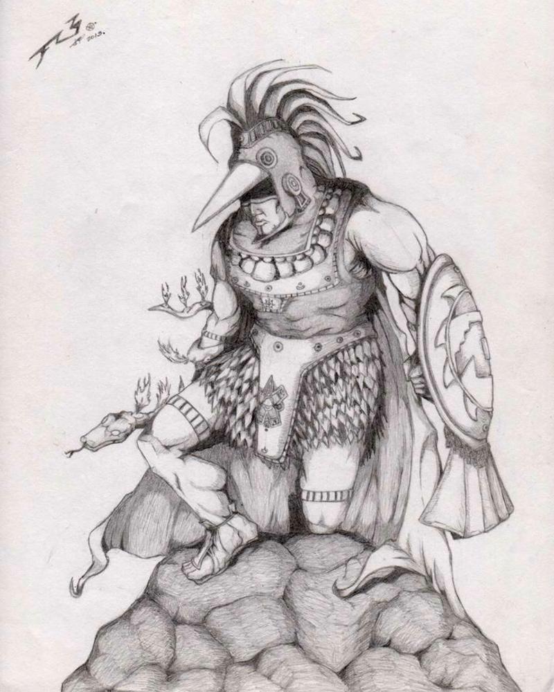 Huitzilopochtli by JFR3