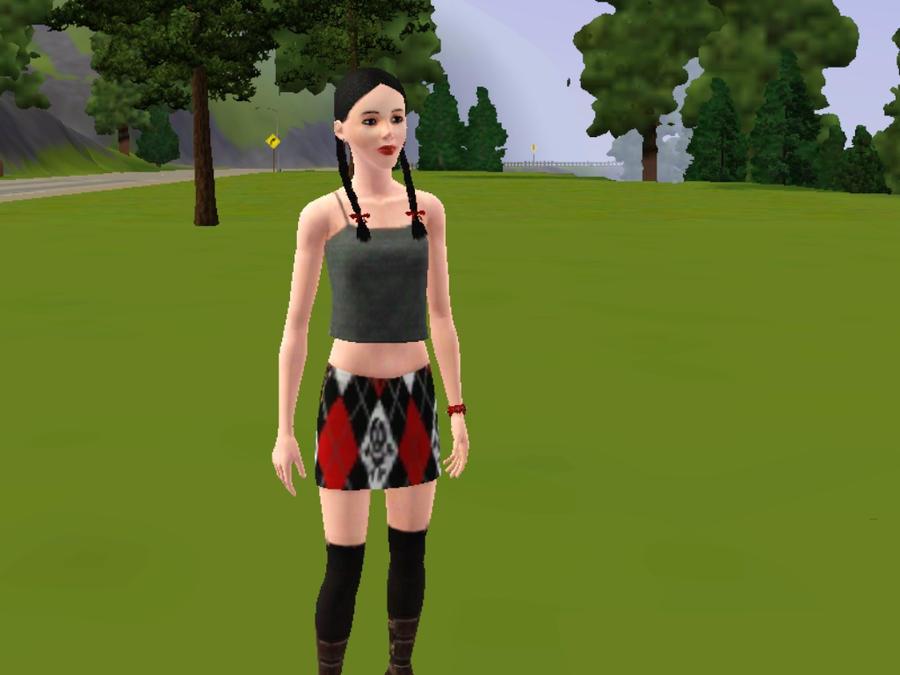 Sims 3 Abby Sciuto by Werewolf-Hero