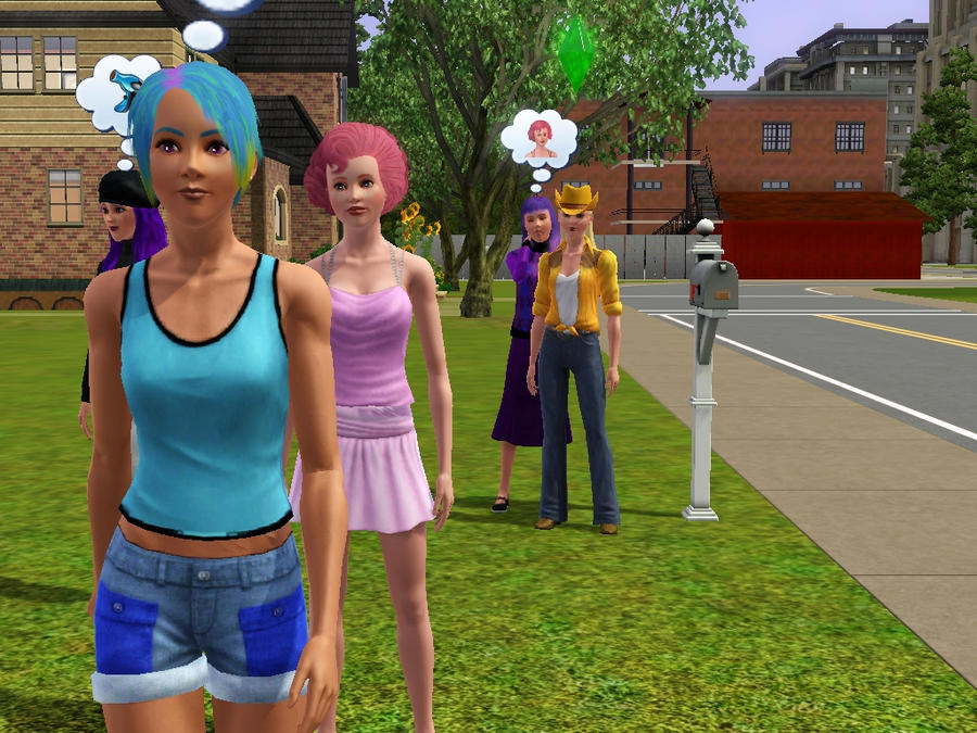 how to become a werewolf in sims 2