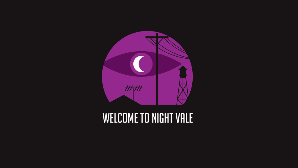 welcome to night vale desktop wallpaper