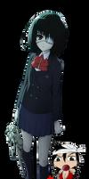 Another - Mei Misaki - Render