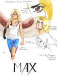 (Maximum Ride characters) Max by MaximWolf