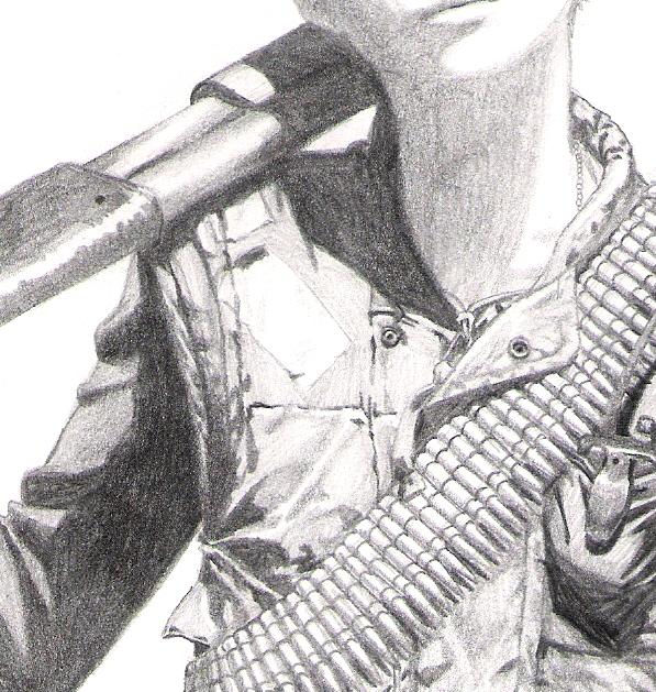 Gunslinger (close-up) by MaximWolf