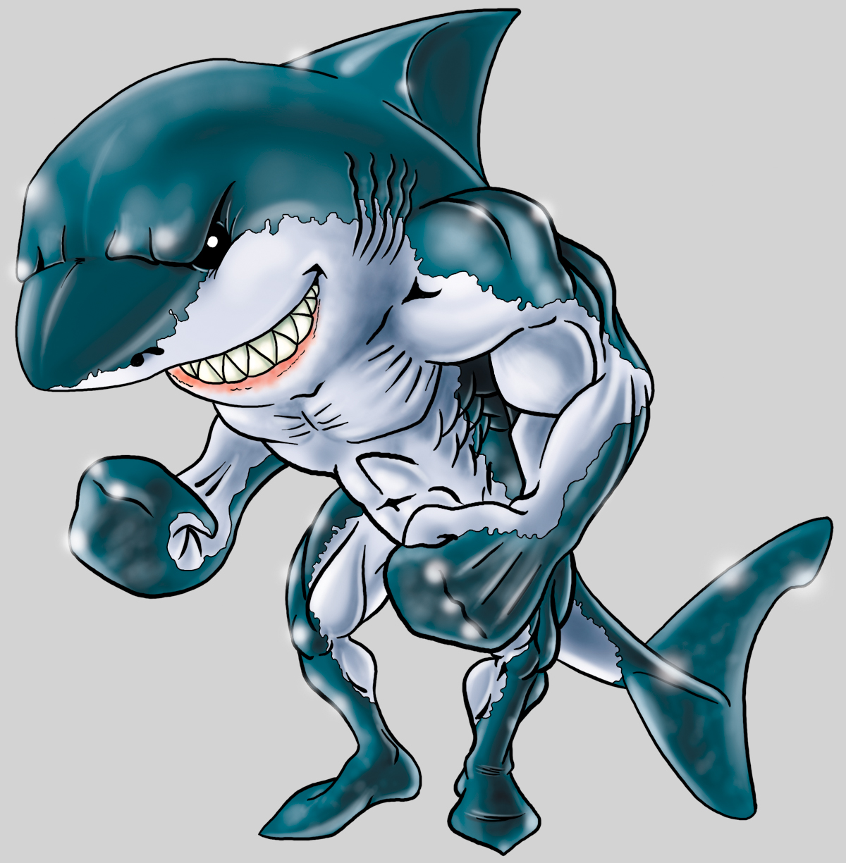 shark humanoid hatched by - photo #18